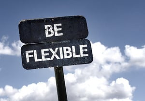 flexible working sign