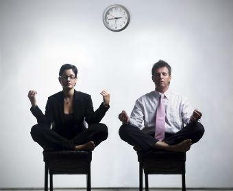 Office yoga increases employee wellbeing