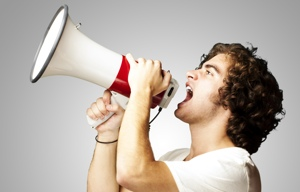 public loudspeaker and employee communication strategy