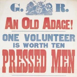 Volunteers WW1