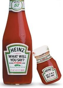 Heinz Cusom Bottles