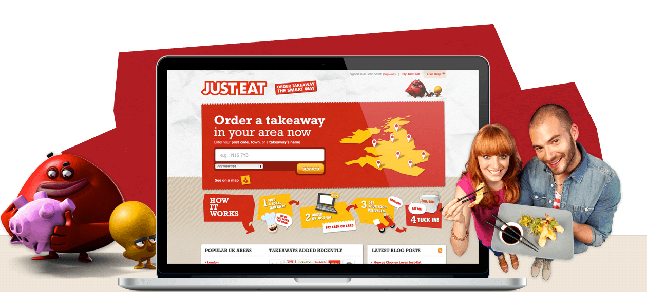 Just-Eat, the world market leader in online takeaway food ordering grabs the attention of young staff with 'Just-Treats' teaser campaign