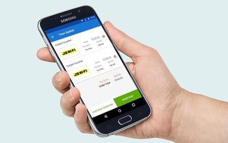 Amplify disposable income with mobile discounts program