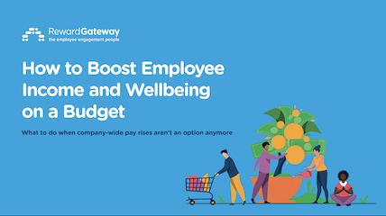 how to boost employee income and wellbeing on a budget