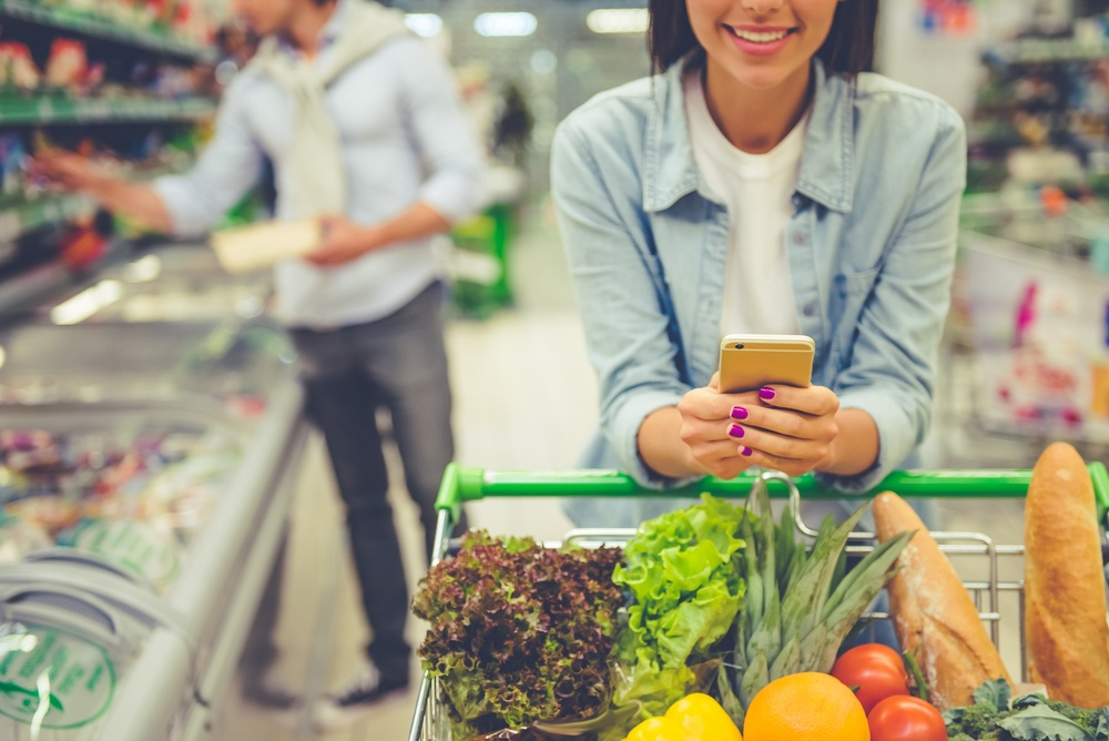 Instant supermarket discounts for employees
