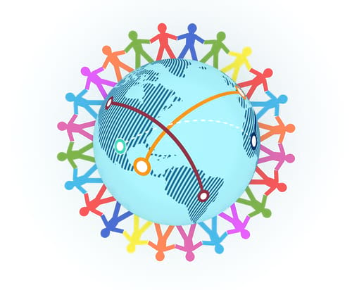 connecting-around-world