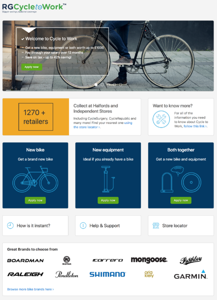 best cycle to work scheme