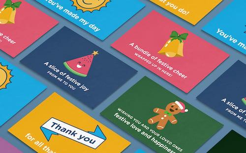 festive ecard examples