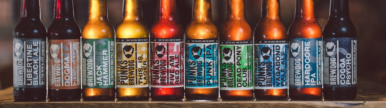 BrewDog Bottle Range