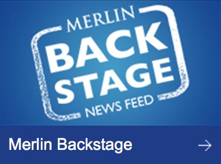 Merlin Back Stage Logo