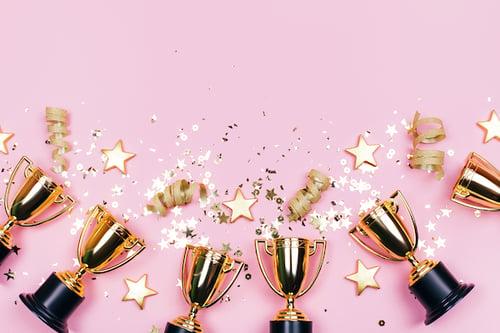 RG4SB_award-recognition-celebration-on-pink-background