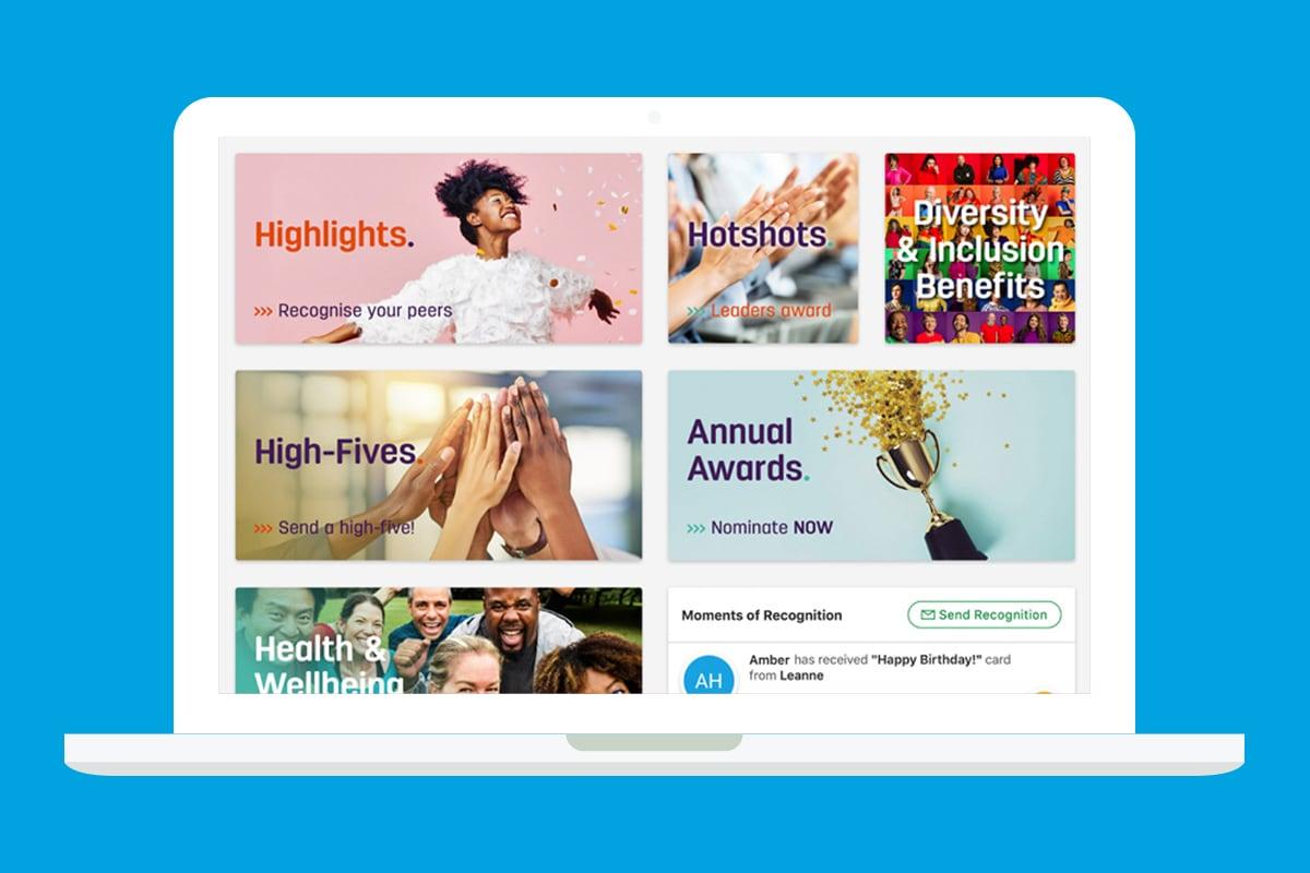 employee engagement platform example