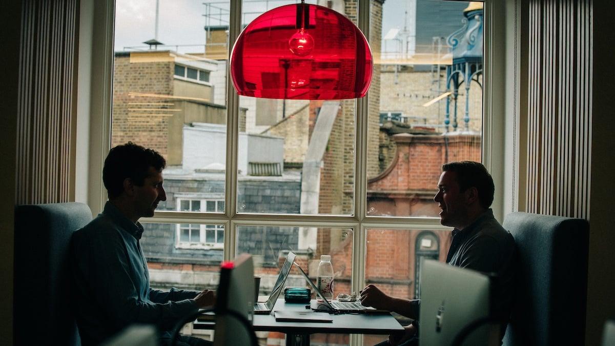 To employees talking - keep working at employee engagement