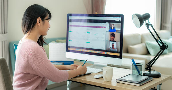 how to connect with remote workers