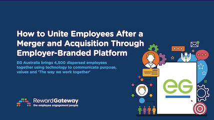 How to Unite Employees After a Merger and Acquisition Through Employer-Branded Platform