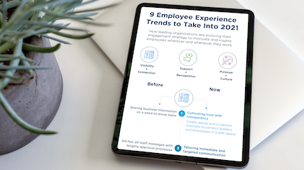 9 Employee Experience Trends to Take Into 2021