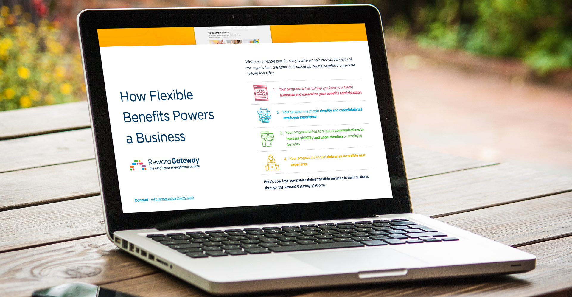 How Flexible Benefits Powers a Business