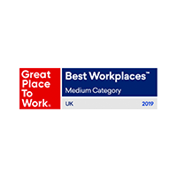 UK - Great place to work - Best Workplace Medium - 2019-1