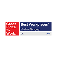 UK - Great place to work - Best Workplaces Medium - 2018-1