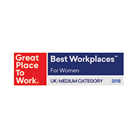 UK - Great place to work -Best Workplaces For Women Medium - 2019
