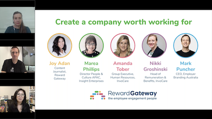create a company worth working for